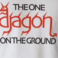THE ONE DRAGON ON THE GROUND T-shirt